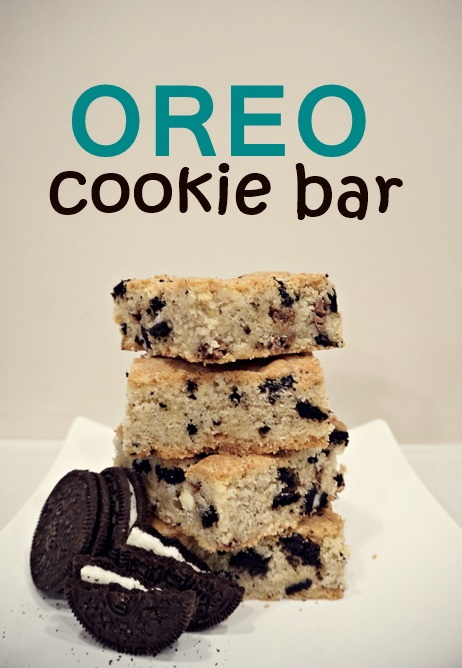 Oreo Cookie Bar